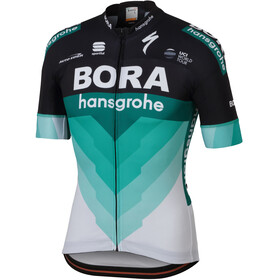Sportful Bodyfit Team Jersey Men Team Bora-HG black/green